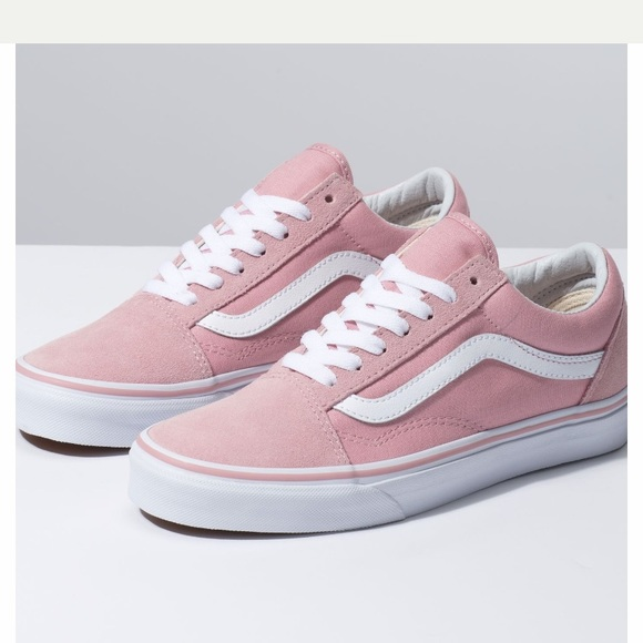 vans old skool all pink